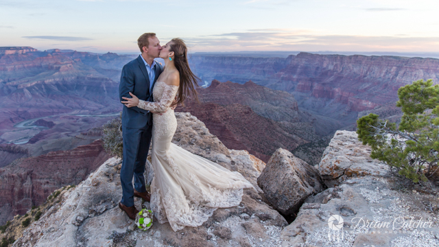 Grand Canyon Lipan Point Wedding 2 2018 (1)
