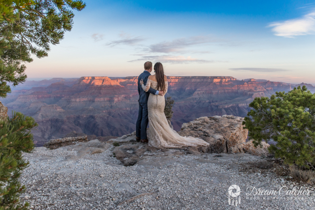 Grand Canyon Lipan Point Wedding 2 2018 (2)