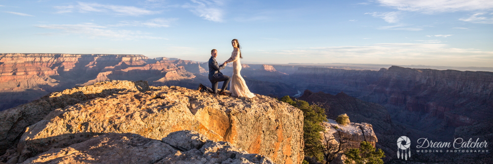 Grand Canyon Lipan Point Wedding 2018