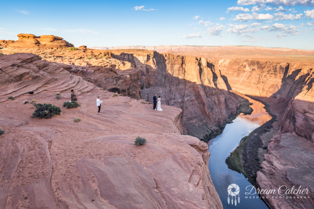 Hogan Horseshoe Bend Tower Butte Wedding (2)