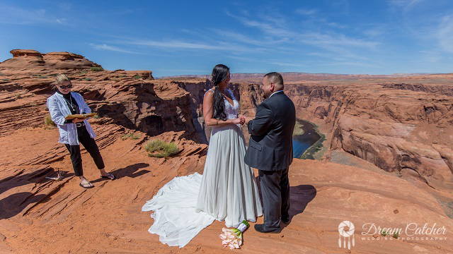 Horseshoe Bend Wedding  (1)