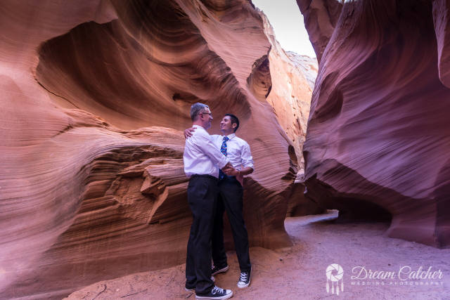 Secret Slot Canyon Wedding (1)
