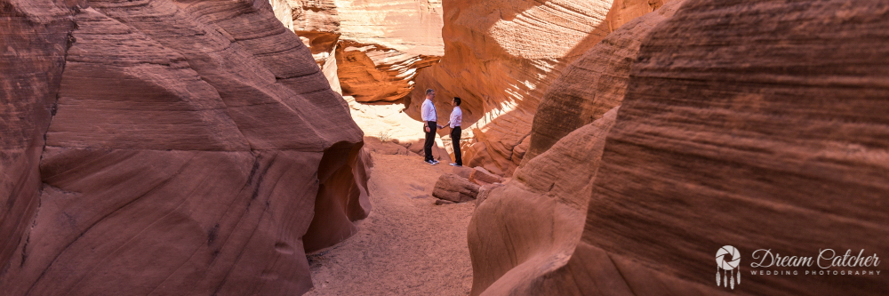 Secret Slot Canyon Wedding (2)