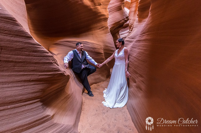 Secret Slot Canyon Wedding (4)1