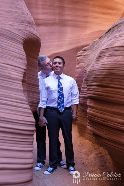 Secret Slot Canyon Wedding (5)
