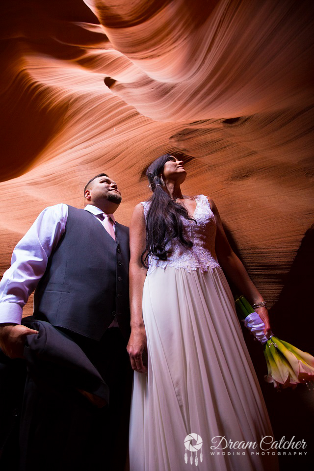 Secret Slot Canyon Wedding (6)