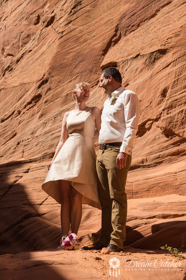 Secret Slot Canyon Wedding3
