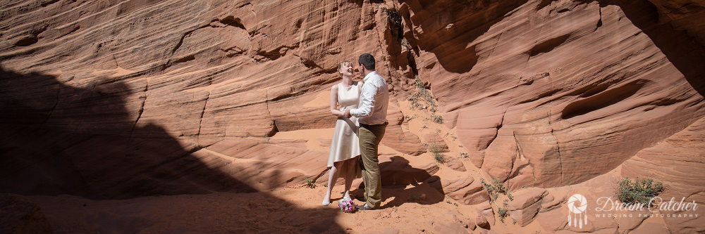 Secret Slot Canyon Wedding4
