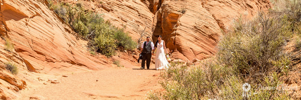 Secret Slot Canyon Wedding5