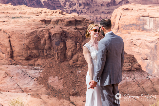 Slot Canyon Horseshoe Bend Wedding   (4)