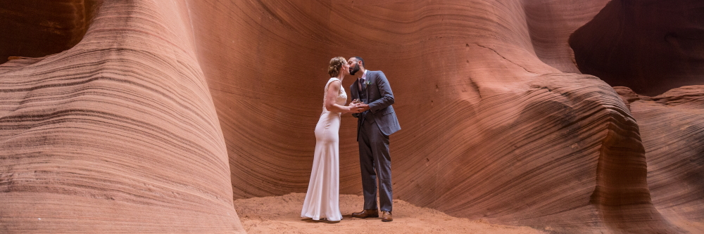 Slot Canyon Wedding