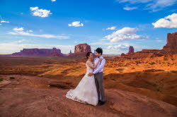 Monument valley wedding photography packages and hourly rates for Wedding photography rates per hour